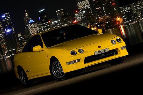 2000 Sunlight Yellow Australian Integra Type-r