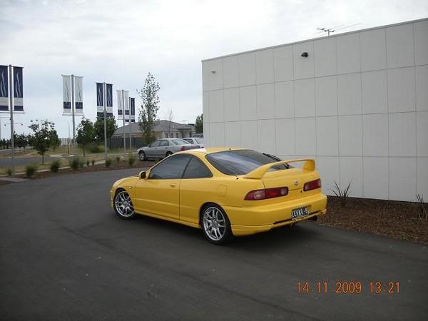 2000 Sunlight Yellow AUDM Integra Type-r