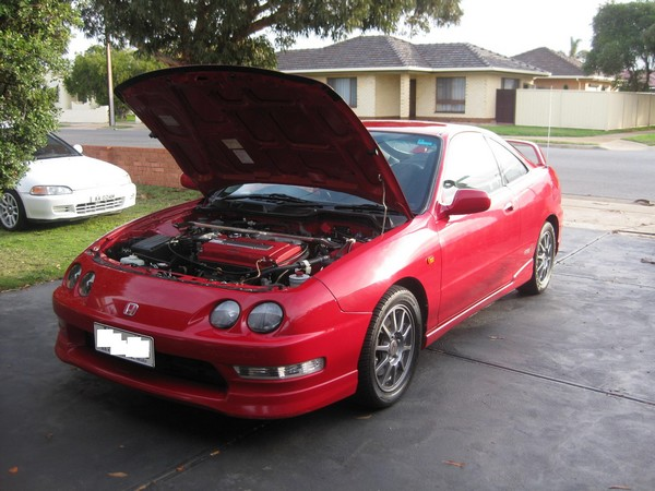 DC2 Australian Milano Red Integra Type-r front end