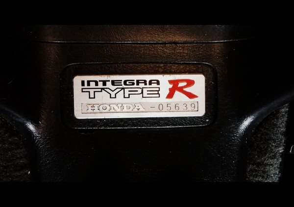 2000 EDM Honda Integra Type-R Center Console Badge
