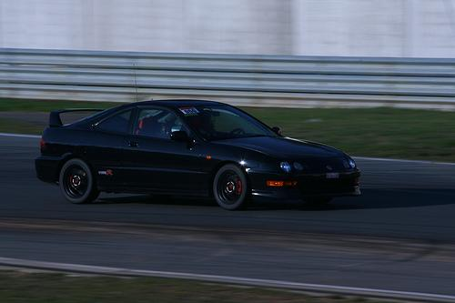 2000 EDM Honda Integra Type-R at the track