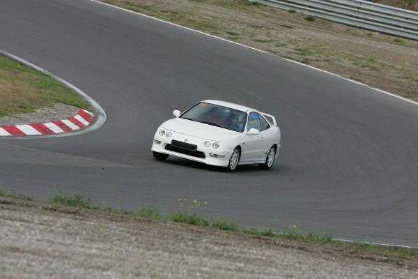 EDM Integra Type R tracking at Circuitpark Zandvoort