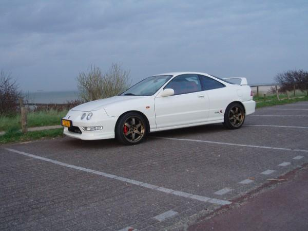 EDM Integra Type R parked
