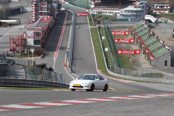 EDM ITR racing at Spa Francorchamps