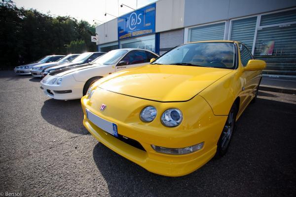 EDM Phoenix Yellow Honda Integra Type-R
