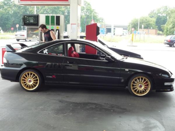 2000 Starlight Black Pearl EDM Integra Type R