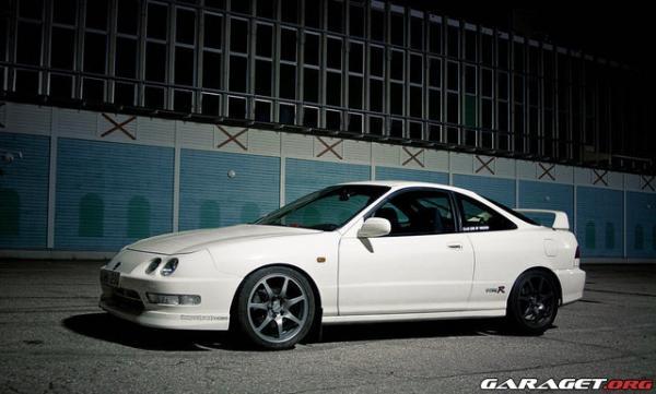 1999 EDM Integra Type-r championship white