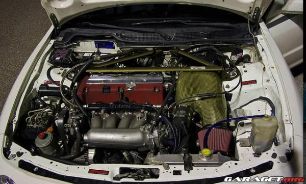 1999 Honda Integra Type-r with K20A2 CTR swap