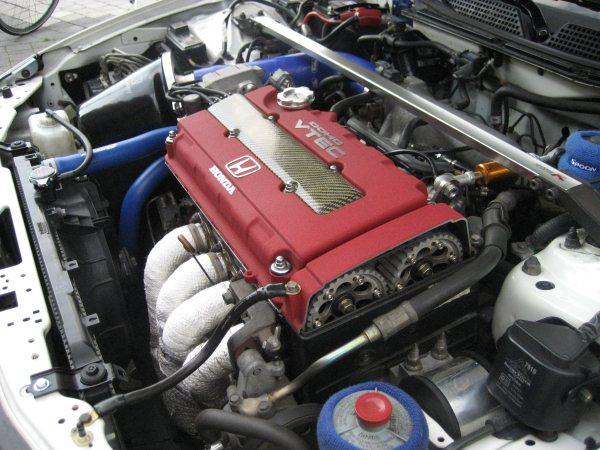 EDM ITR Engine compartment