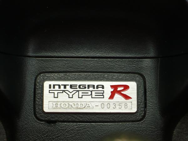 1998 EDM Integra Type-R interior badge number plaque