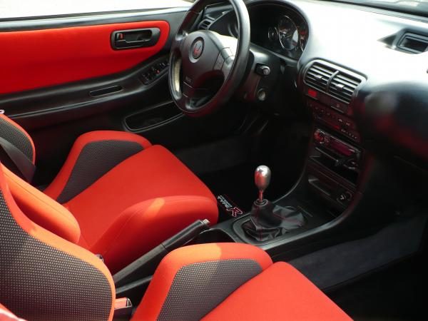 1998 EDM Integra Type-R custom interior