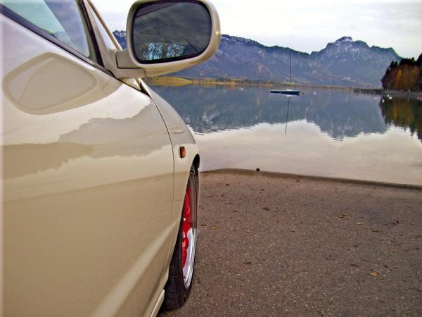 German Integra Type-R reflection picture