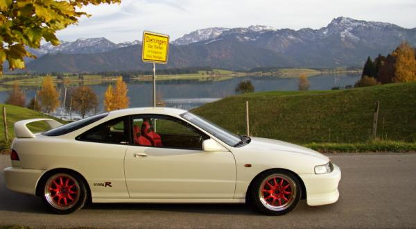 Germany EDM Integra Type-R Scenic picure