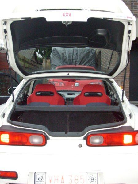 1998 EDM Integra Type-R custom interior