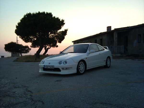 1998 EDM Integra Type-R at sunset