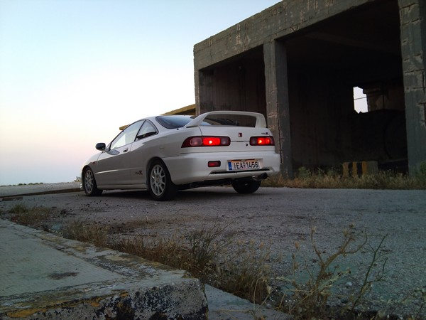 1998 EDM Integra Type-R back end