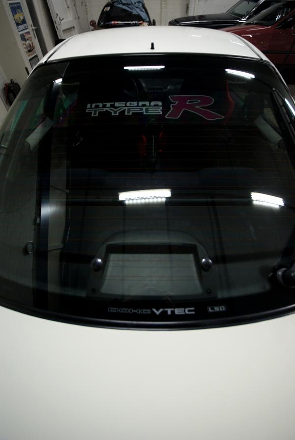 1998 EDM Integra Type-R Rear window sticker
