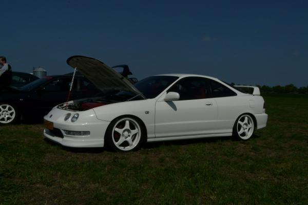 EDM Integra Type-R championship white