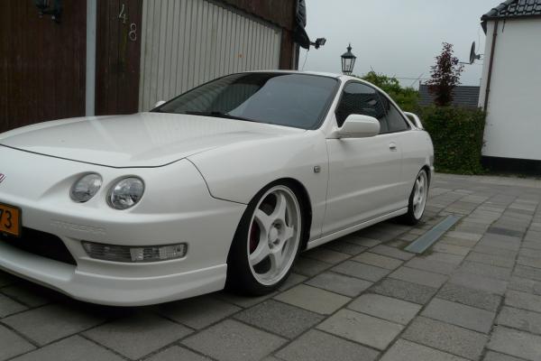 Netherlands EDM Integra Type-R championship white