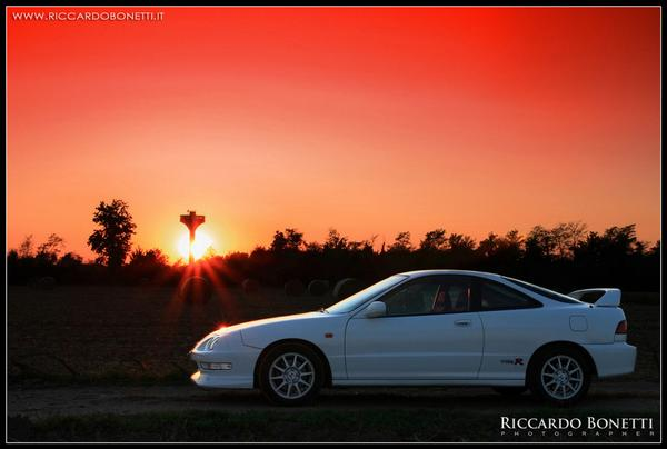 EDM ITR at sunset