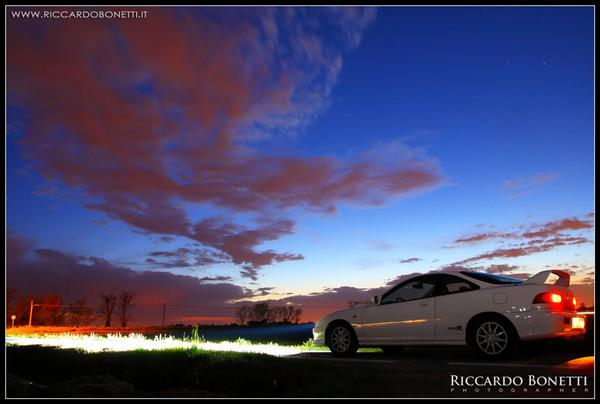 EDM Integra Type-R at dusk