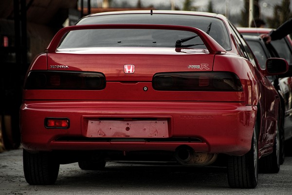 Milano Red EDM Integra Type-R back end