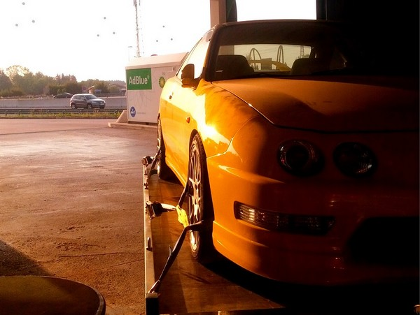 1998 EDM ITR repainted yellow