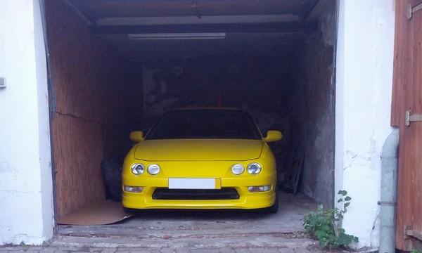 EDM ITR front end in garage