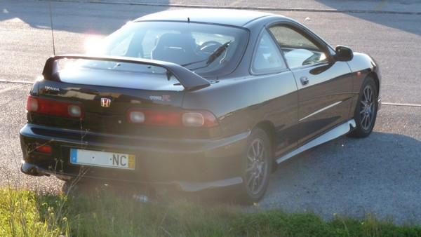 EDM Integra Type R nighthawk black pearl back end