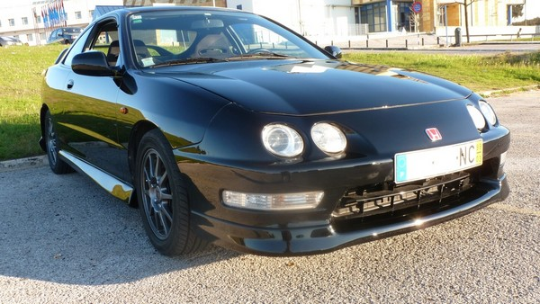 EDM ITR nighthawk black pearl front bumper