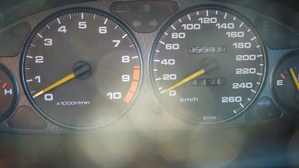 EDM Integra Type R gauge cluster