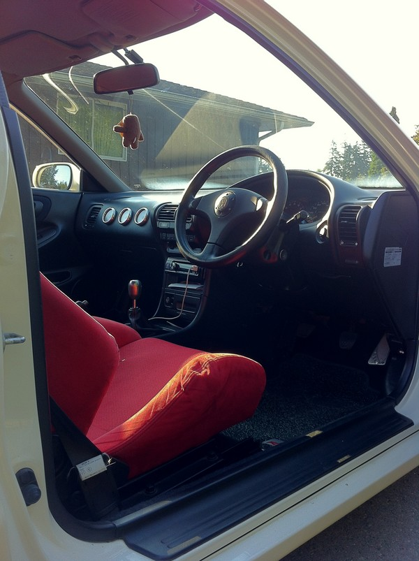 JDM 1996 Integra Type R interior