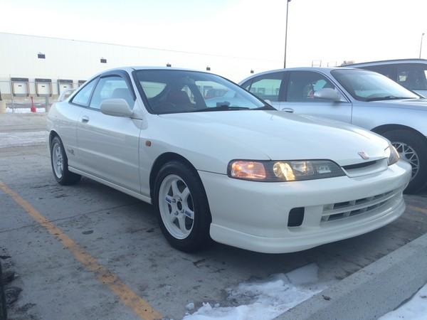 JDM 1996 Integra Type R Championship White