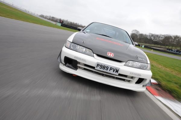JDM 1996 Integra Type R race car front end