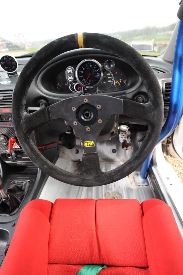 1996 Integra Type-R racecar interior