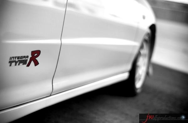 96 JDM Honda Integra Type R - ''R'' badge