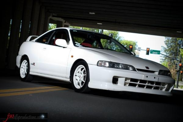 96 spec JDM Honda Integra Type R front end