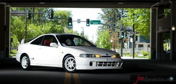 96 JDM Honda Integra Type R drivers side
