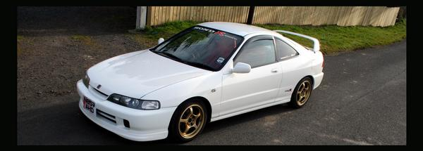 96 Integra Type R front left