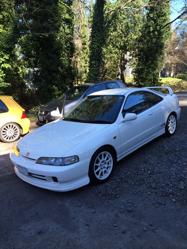 1996 JDM Honda Integra Type R in the USA