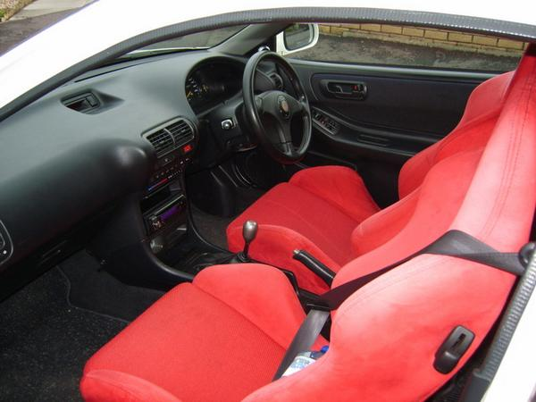 JDM Type R Seats and right hand drive interior
