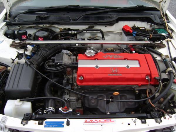 OEM JDM Integra Type R Engine Bay B18C!