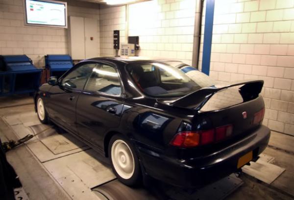 Granada Black Pearl DB8 on the dyno