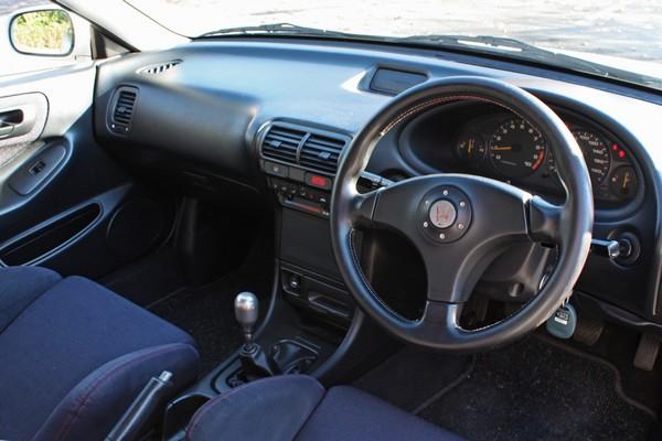 JDM Integra Type-R Dash and steering wheel