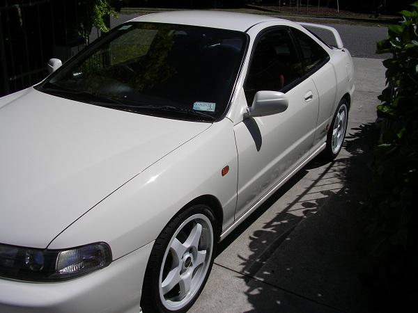 Championship White JDM Integra Type-R