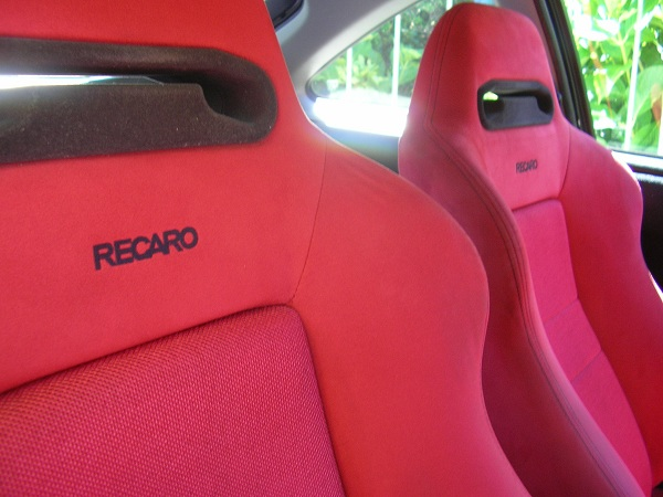 JDM Integra Type-R red Recaro seats