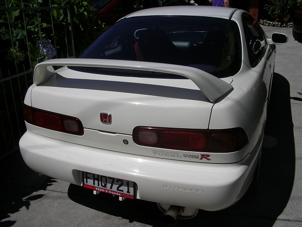 96-Spec JDM Integra Type-R back end