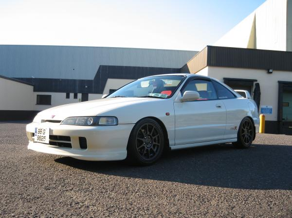 Championship White Integra Type-Rx
