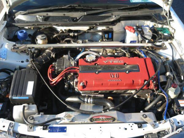 JDM Integra Type-Rx engine bay
