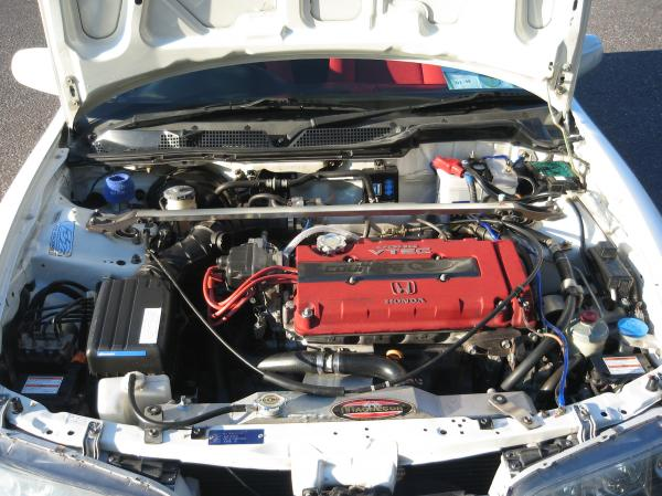 JDM ITRx B18C engine bay